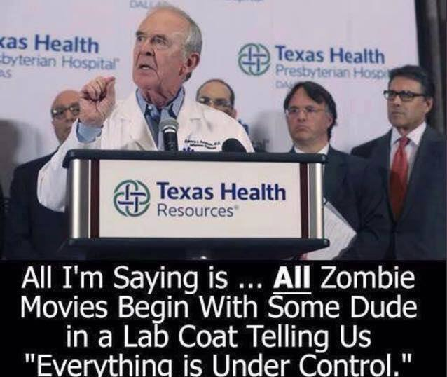 All I'm saying is Zombie movie
