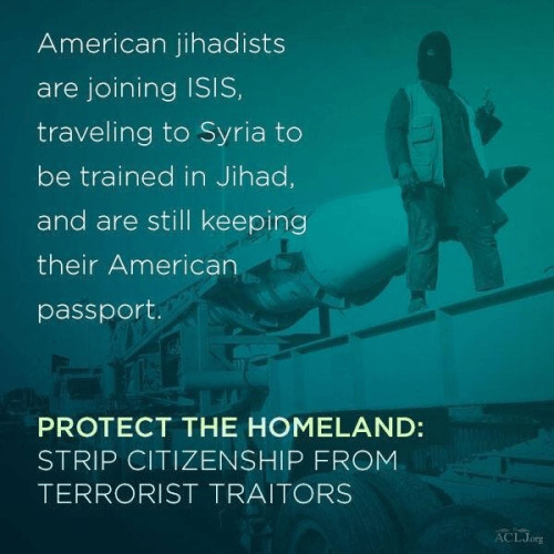 American terrorists in Syria get to keep their passports