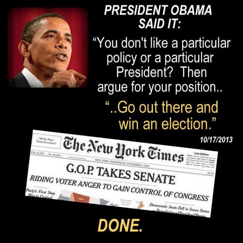 Obama said to change policies win elections