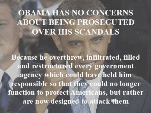 Institutions designed to protect Obama