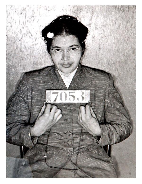Rosa Parks mug shot