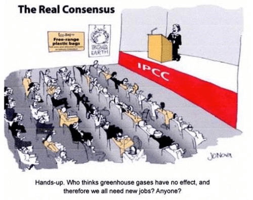 The IPCC's real reason for pushing climate change