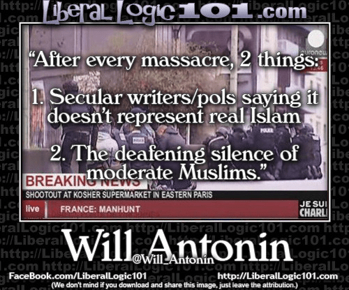 After Muslim massacre no one will admit Muslims are the problem