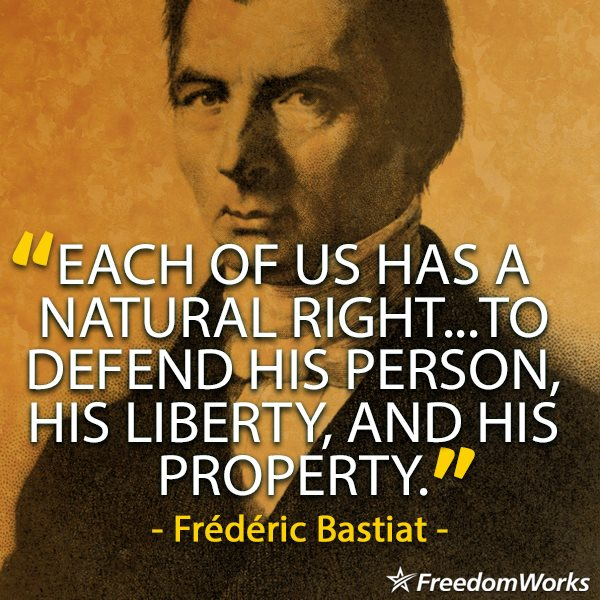 Bastiat on natural rights