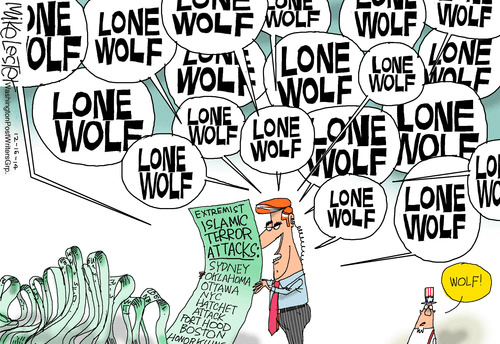 Crying Lone Wolf