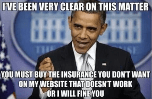 Obama on Obamacare