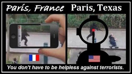 Paris France v Paris Texas