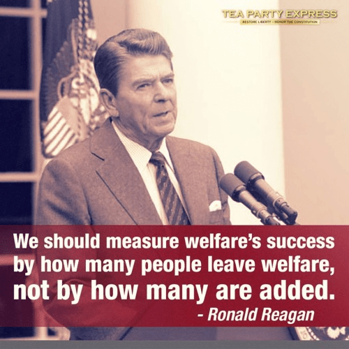 Reagan on Welfare