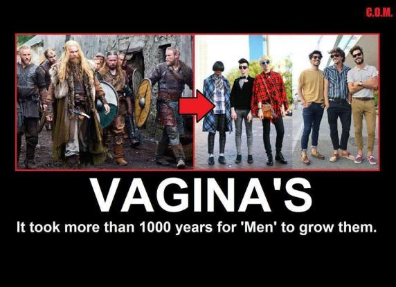 Vaginas and men