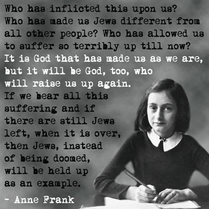 Anne Frank on Jews and God