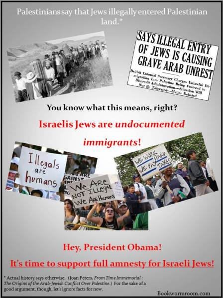 Obama amnesty for Israeli Jews