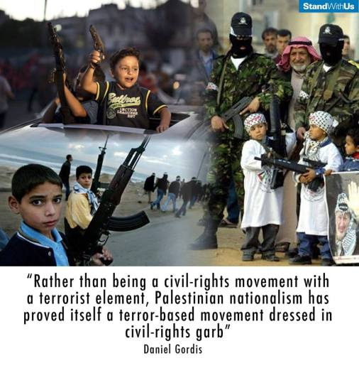 Palestinian movement is pure terrorism