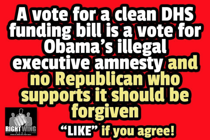Clean DHS Republicans Amnesty