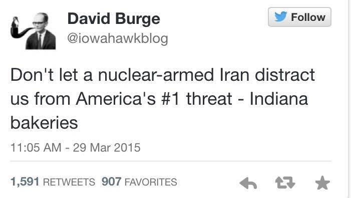 David Burge on Iran Indiana