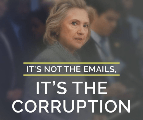 Hillary emails corruption