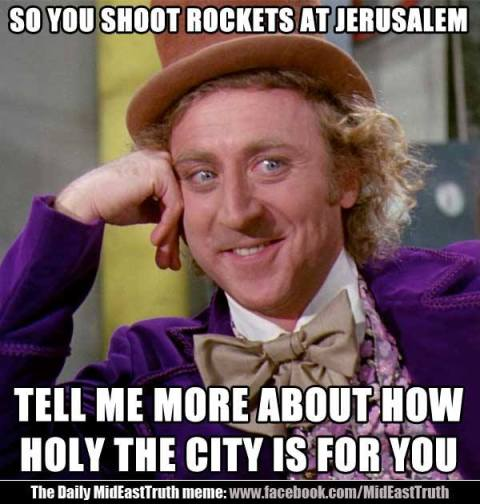 How holy Jerusalem is to Muslims