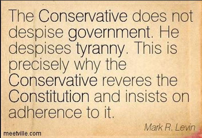 Mark Levin on tyranny the constitution and conservatives