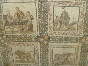 Mosaic in the Bardo Museum, Tunis