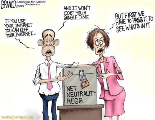 Pelosi and Obama on net neutrality regs