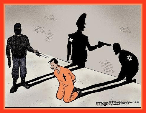 What's happening in the Middle East to Christians is Hitler all over again