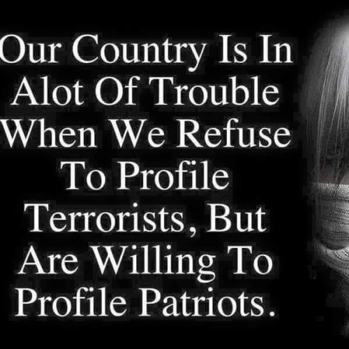 America profiles patriots not terrorists