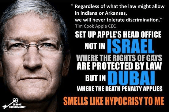 Apple hypocrisy