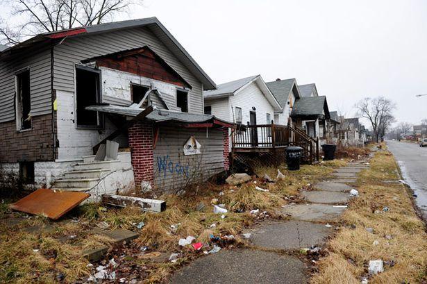 Detroit street scene
