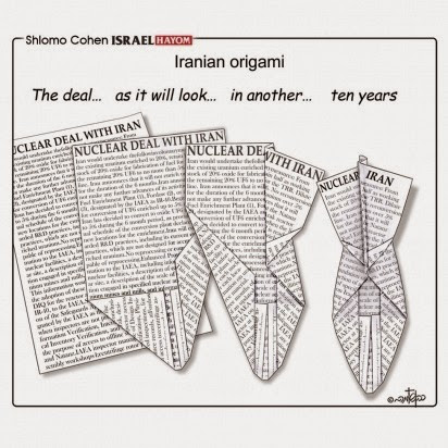 Iran deal origami
