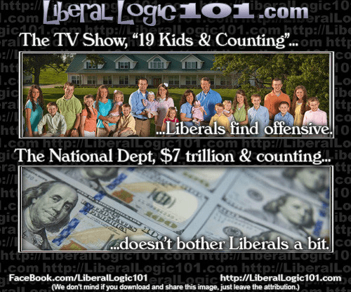 Liberal logic national debt