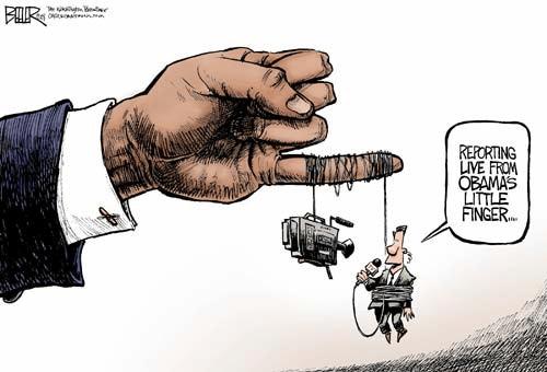 Media Obama love affair