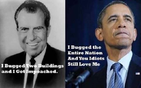 Nixon versus Obama