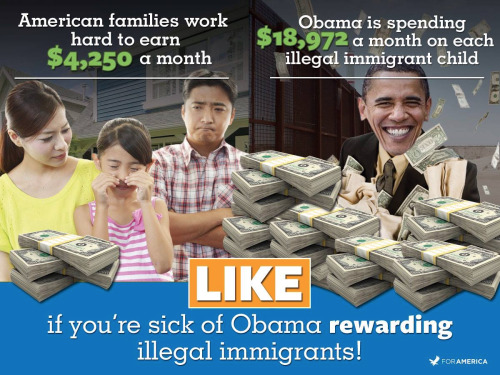 Obama rewards illegal immigrants