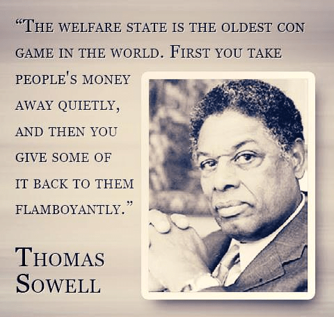 Thomas Sowell on welfare con