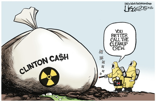 Toxic Clinton cash