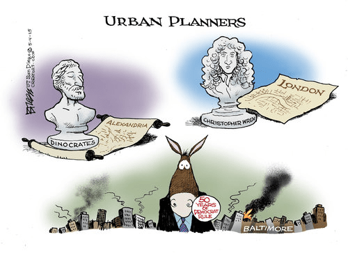 Urban planning and democrts
