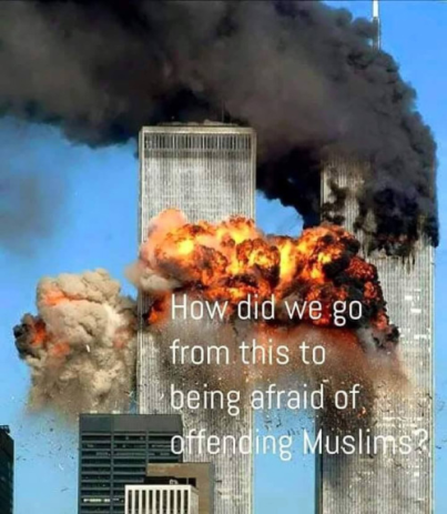 911 to fear of offending Muslims