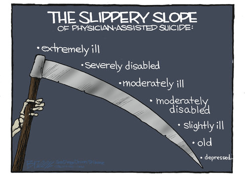 Slippery Slope Physician suicide