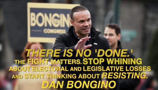 Bongino on continuing to fight