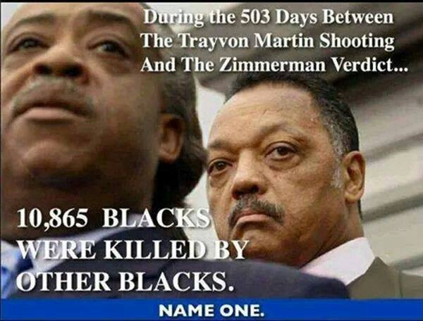 Blacks killing blacks