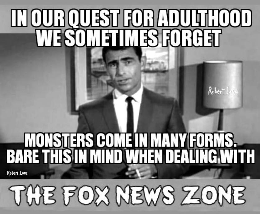 Fox news castigated as a monster