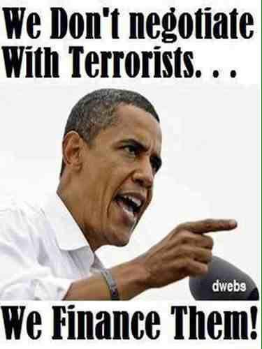 Obama finances terrorists
