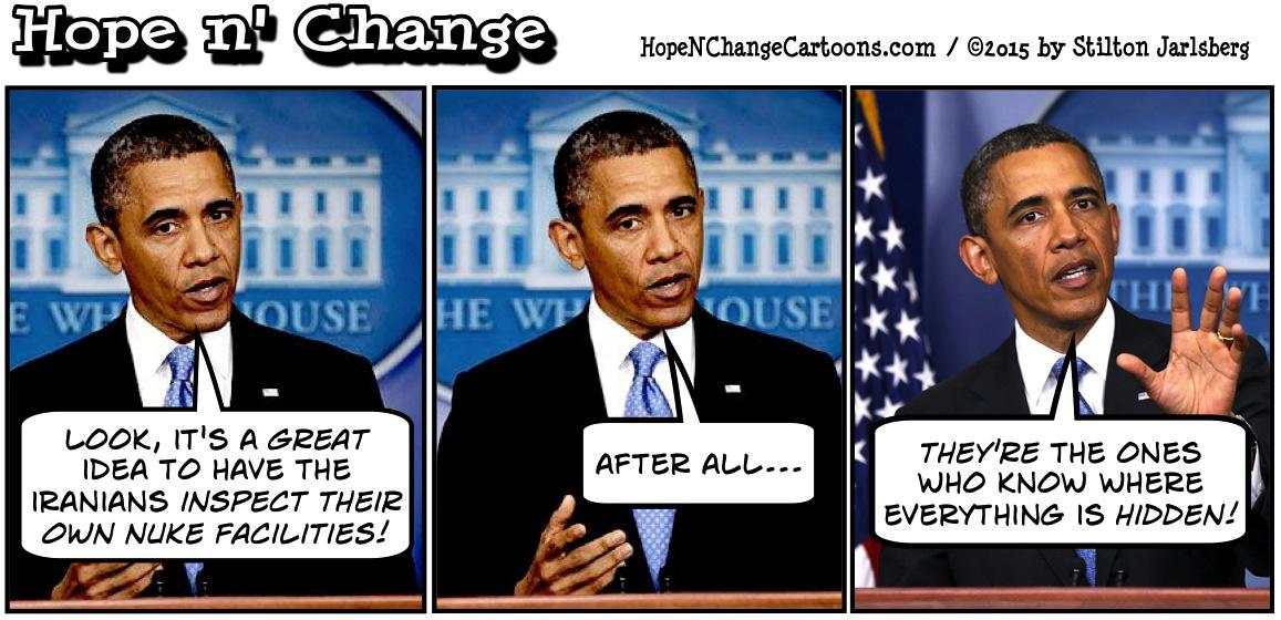 Obama on Iranian self inspection