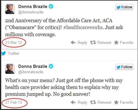 Donna Brazile on Obamacare