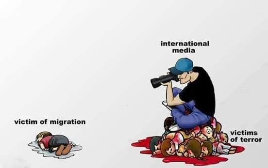 Media, migration, and terror