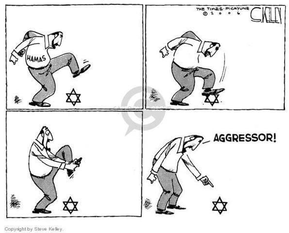 Israeli aggressor