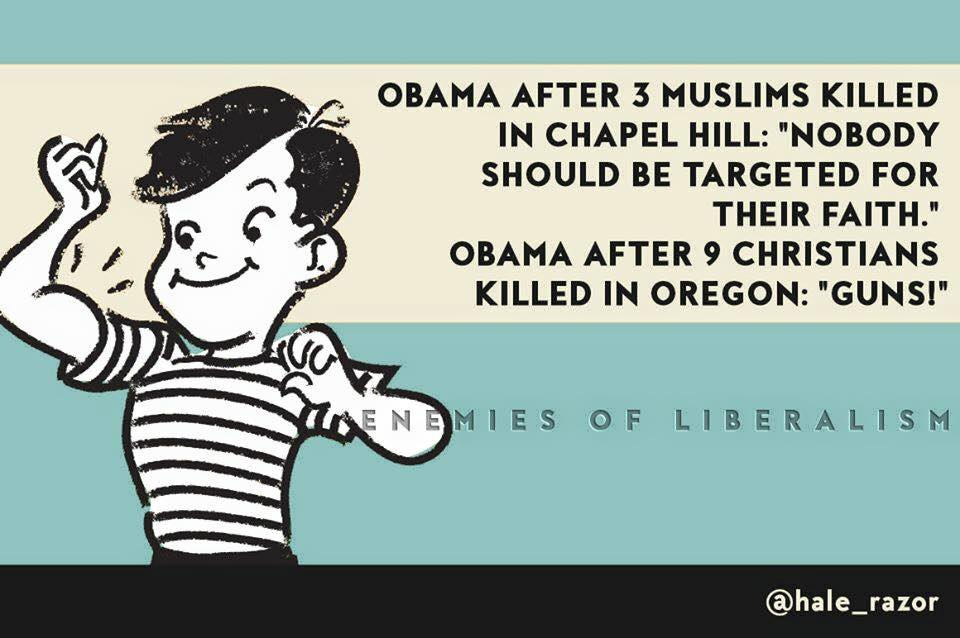 Obama's double standards when it comes to Christian victims