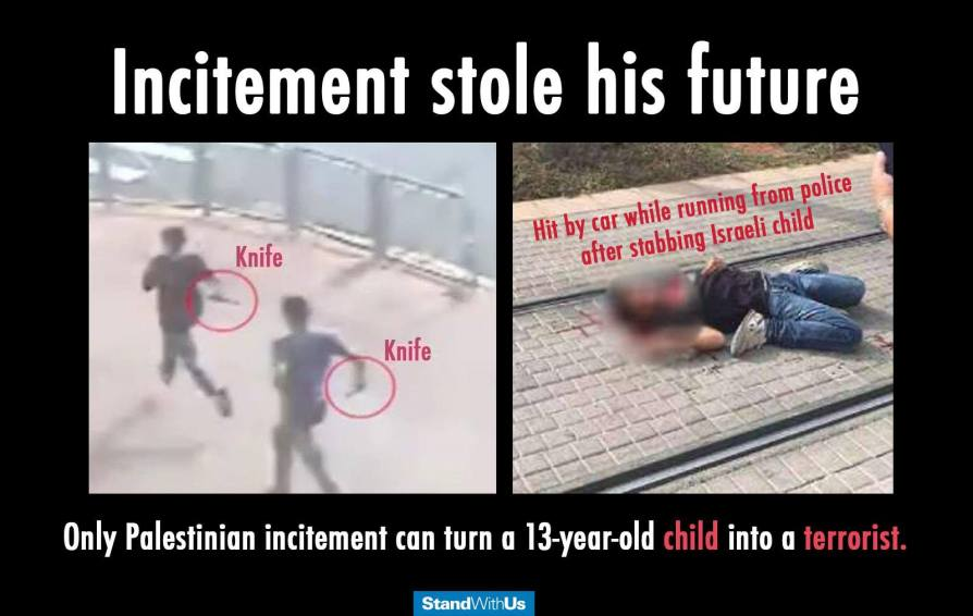 Palestinians steal their children's futures