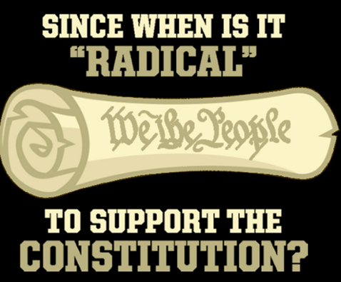 Radical to support the constitution