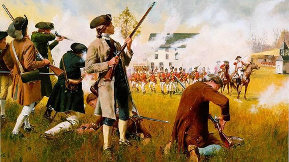 Revolutionary War Second Amendment