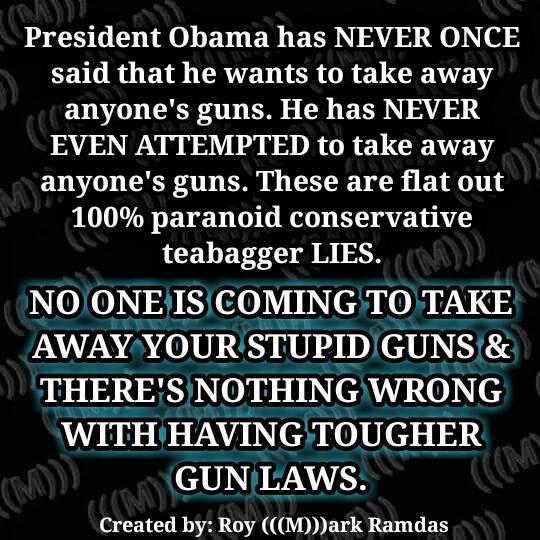 Taking away guns